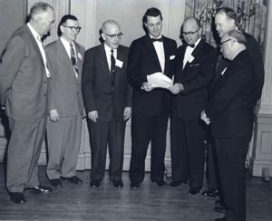 OAWA Founding Fathers reviewing charter