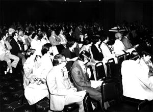OAWA Convention Keynote Speech Audience